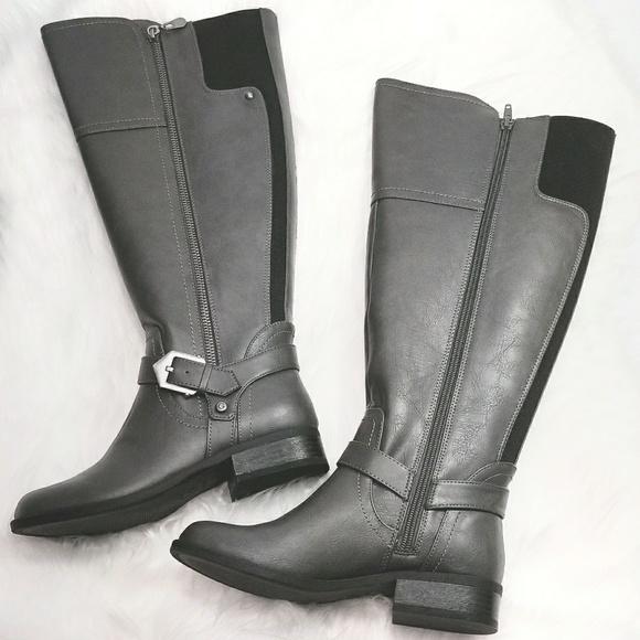 Nib Guess Hailee Wide Calf Riding Boots